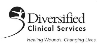Logo for Diversified Clinical Services, before rebranding to Healogics.